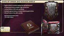 6QUEENSLAND S.O.O 2012 SUCCESS SHEILD UNSIGNED IN BOX - UNFRAMED