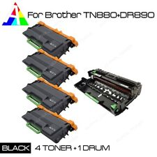4PK TN880 Toner 1PK DR820 Drum set For Brother MFCL6700DW MFCL6750DW MFC-L6800D
