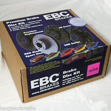 EBC FRENI TURBO GROOVE DISCO NERO PASTIGLIE REDSTUFF CERAMIC BMW e90 e91 e92
