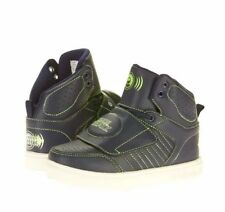 Shoe Beatz Youth Boys Shoes Size 3 Navy & Lime