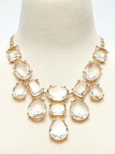 Banana Republic Majestic Jewels Necklace $98 Light Clear Yellow