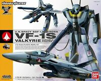 BANDAI VARIABLE VALKYRIE 1/72 VF-1S ROY FOCKER SPECIAL Plastic Model Kit Macross
