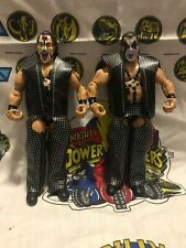 2003 WWE Jakks Classic Superstars Demolition AX & Smash tag team figures Mattel