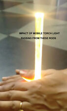 ACRYLIC Sheet Rods Clear 10mm 12 inch long DIY 1 foot long pack of 3 pcs