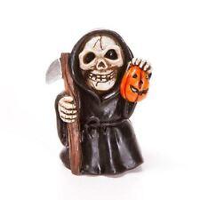 Miniature Dollhouse Fairy Garden Halloween Grim Reaper Figurine Statue