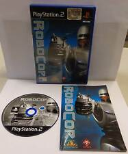 Console Gioco Game SONY Playstation 2 PS2 Play Robot Poliziotto PAL ITA ROBOCOP