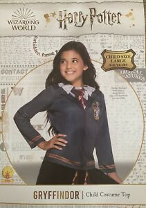 Harry Potter Costume Gryffindor Top - Child - Book Week - *NEW* 8-10 Years