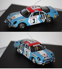 Trofeu Renault Alpine A110 Rallye Del Marruecos 1974 J. P. Nicolas 1/43 TR821
