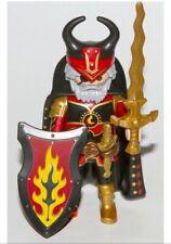 Playmobil Novelmore Burnham captain, castle knight figure, accessories, rare