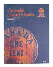 New Whitman Album Canada Large Cents Collection 1858 1920 Coin Folder 2478 Book