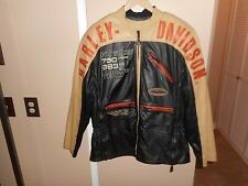 XL Vintage Harley-Davidson® Men's Racing Team VR1000 750XR 883R Leather Jacket
