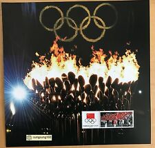 CHINA 2012-17 1v Special S/S Opening London 2012 Olympic Game Gold stamps Sport