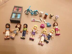 Bundle of LEGO FRIENDS girls mini figures & animals
