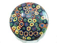 M Design Art Glass XL Size Hexagonal Murrine Tile Pattern Millefiori Rainbow Gl