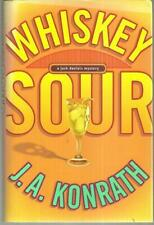 Whiskey Sour Signed by J. A. Konrath 2004 1st edition with DJ Jack Daniels Mys