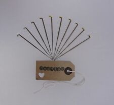 10 needles - 42 Gauge. Triangular tip for Felting and rooting