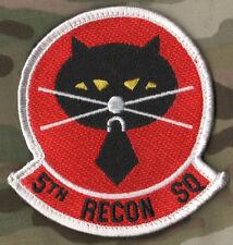 USAF LOCKHEED SKUNK WORKS U-2 DRAGON LADY USAF RECON 5th SQN SSI: BLACK CAT 黑貓中隊