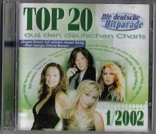 TOP 20 AUS DEN DEUTSCHEN CHARTS 1/2002 (DIE DEUTSCHE HITPARADE) / TOP MUSIC - NE