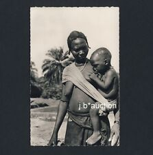BREASTVEST Afican Woman Nursing/Breastfeeding Mother * 50s Ethnic nude Photo PC