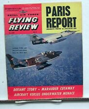 Sept 1963 ROYAL AIR FORCE FLYING REVIEW Magazine