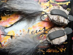 Irideus Mongolian Taimen Rat Articulated rout fly fishing steelhead float