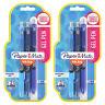 Paper Mate InkJoy Gel Retractable Pens, 0.5mm, Fine, Assorted Blue Ink, 6-Count