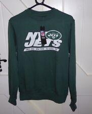 New York Jets SMALL NFL Massack Crew Sweatshirt American Football BNWT CHEST 38