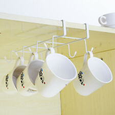 Coffee Mug Cup Holder Under Shelf Cabinet Hanger Organizer Rack And Belts Hook