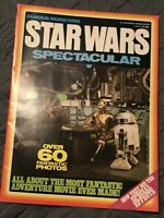 Vintage Famous Monsters Star Wars Spectacular Magazine Preowned