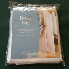 """NIP Whitmore Ladies Long Dress Closet Storage Zippered Hanging Bag 24"""" x 48"""""""