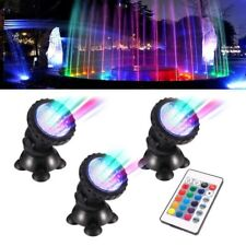 36 LED Fish Tank Unterwasser Scheinwerfer RGB Aquarium Spot lichtbrunnen Teich