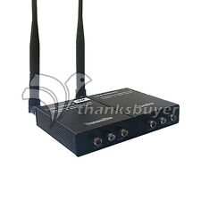 2.4GHz 3W Wireless Audio Video Transmitter AV Sender Receiver TX RX 2.4G 2000M