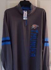 Oklahoma City Thunder NBA Team Store Quarter-Zip, Men's Size XL