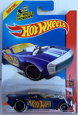 MOC! 2013 Hot Wheels ~ Nitro Doorslammer ~Blue  #103 HW Racing HW Race Team