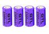 4 X Gtl 3.7v Cr123a 16340 2300mah Rechargeable Li-Ion Batterie Cellule Piles
