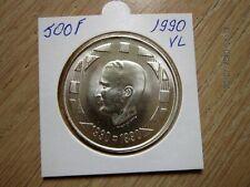ZILVEREN 500FRANK 1990 VLAAMS IN MOOIE STAAT