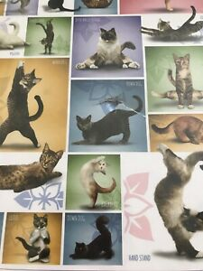 Eurographics Puzzle Yoga Cats 1000 Pieces ~ New ~