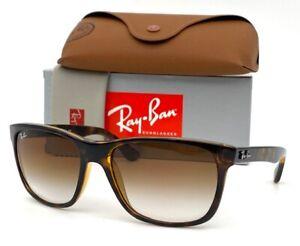 Ray Ban RB4181 710/51 Light Havana / Brown Gradient  57mm Sunglass