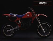 1987 HONDA CR80R Motocross NEW Original SALES BROCHURE