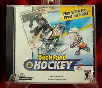 PC - Humongous Backyard NHL Hockey (CD-Rom)