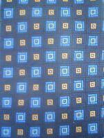 Daniel De Fasson Studio Tie Geometric Designer Silk Mens Necktie