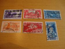 Italien, 1932, 1933, 1935, diverse Michelnummern, gestempelt