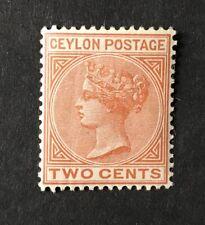 CEYLON 1899 2c Pale orange brown SG 256 MM