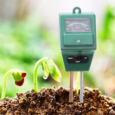 Soil Tester 3-in-1 Plant Moisture Sensor Meter/Light/pH Tester for Garden Lawn