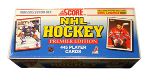 1990-91 Score Hockey Factory Set (445) Martin Brodeur Rookie / Eric Lindros +