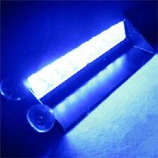 12V Blue Safety Car Warning Lights Bulbs&LEDS Bar Advisor Vehicle Strobe Light