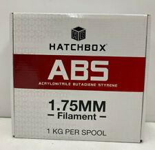 HATCHBOX ABS 3D Printer Filament, Dimensional Accuracy +/- 0.3 mm, 1 kg Spool,