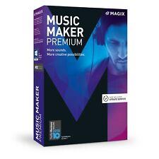 MAGIX Music Maker 2018 Premium Edition – DAW Audio Station de travail! cubase ableton