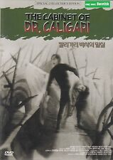 The Cabinet of Dr. Caligari Special Collectors Edition DVD New