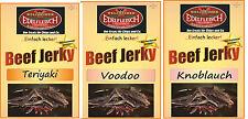 900 Gramm Biltong Trockenfleisch Teriyaki+Voodoo+Knoblauch